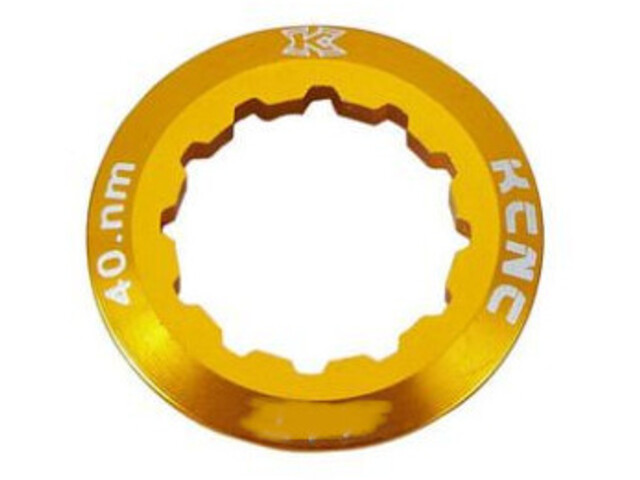 KCNC Campagnolo Cassette Lockring 10/11/12-speed 12T, oro